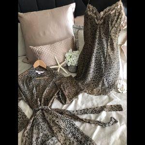 Victoria Secret Chemise and Wrap Set
